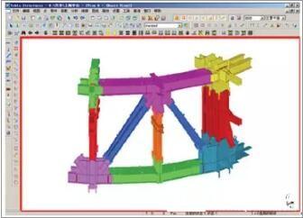 BIM在钢结构制作中的深化应用