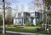 50套欧美风格漂亮别墅效果图