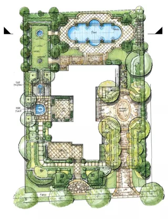 园林景观效果图图片3
