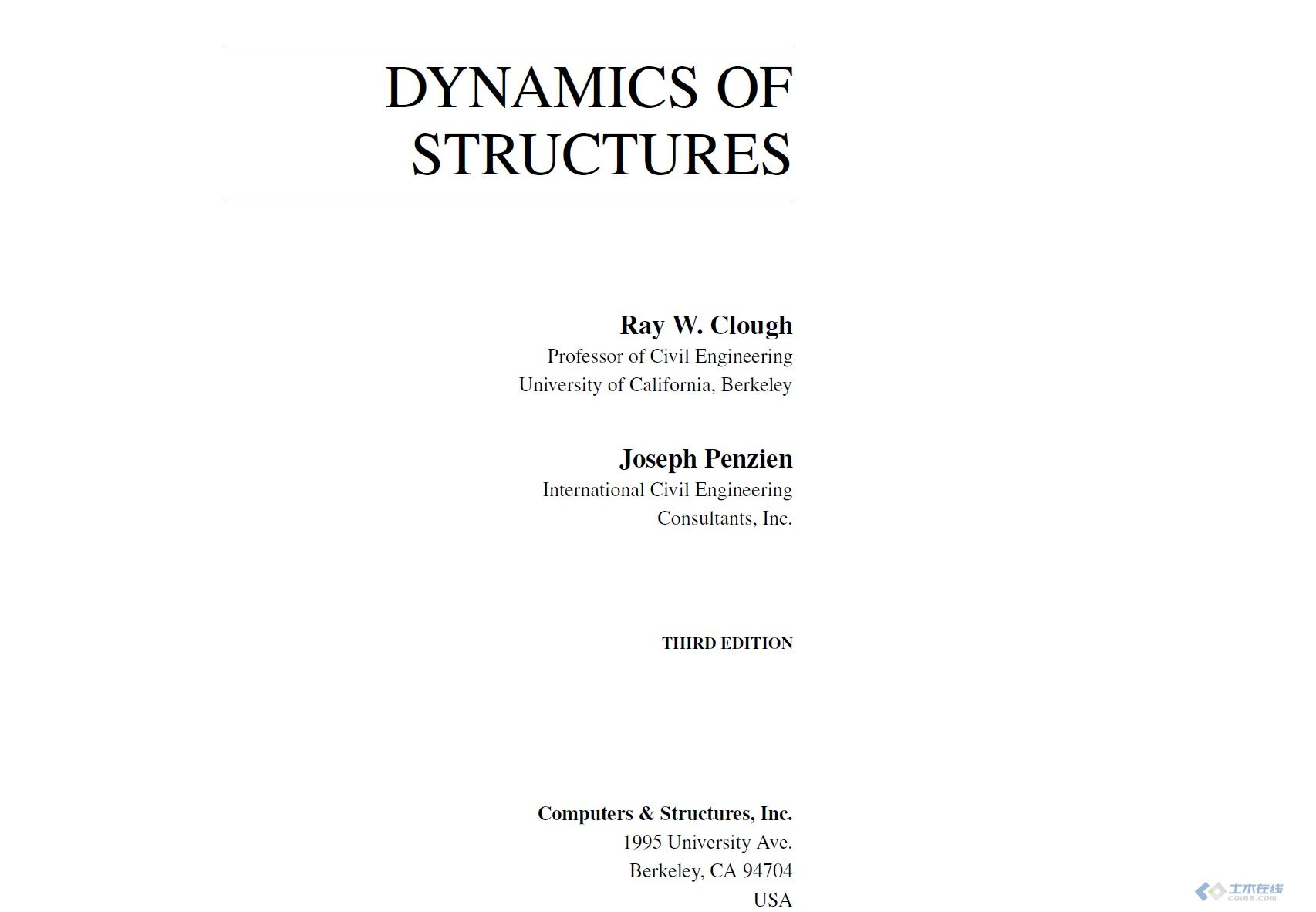 Dynamics of Structure-R.克拉夫.jpg