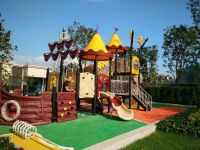 园林配套设施儿童滑梯,健身器材,休闲桌椅,垃圾桶寻合作共赢